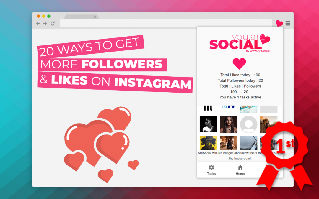 20 Ways To Grow Your Instagram Followers for FREE