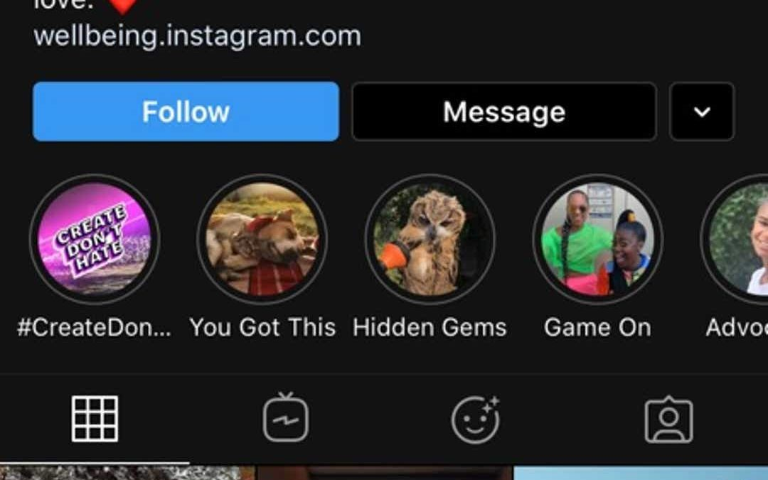 Instagram upgrade for iOS 13 and add support for dark mode